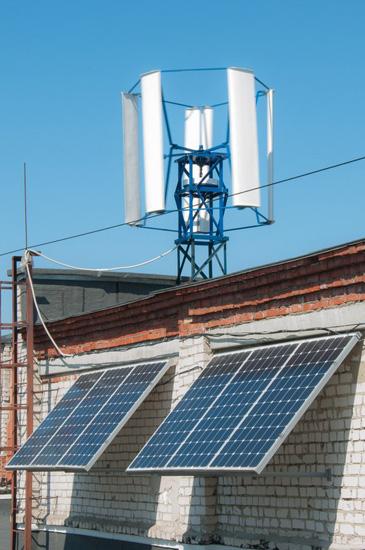 Ветросолнечная электростанция своими руками