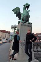 Стажировка учащихся факультета в Любляне (2013)