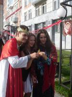 Студенты ИПФ в день рождения ПГНИУ (2012)
