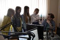 Молодое поколение интересуется студенческим радио