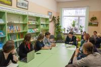 Проектная аудитория в читальном зале