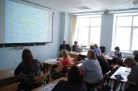На методическом семинаре для учителей географии «Подготовка учащихся к олимпиадам по географии»