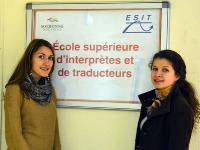На стажировке в ESIT, Paris-3 Nouvelle Sorbonne
