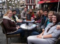 На языковой стажировке в Университете г. По, Франция (2014)